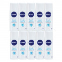 Kit 10x90mL Nivea Fresh Natural 24h Desodorantes Spray