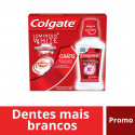 Kit c/3 Cremes Dentais Colgate Luminous White 70g +XD Shine