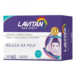 Lavitan Mais Beauty c/ 60 Cápsulas