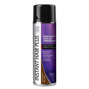 Instant Hair Plus Maquiagem Capilar Calvície Spray Cast Esc