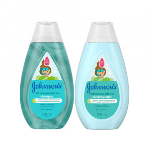 Kit Johnsons Baby Hidratação Intensa Condicionador +Shampoo