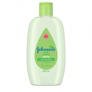Colônia Johnsons Baby Lavanda 400mL