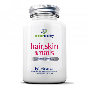 Hair, Skin e Nails Nature Healthy c/ 60 Cápsulas