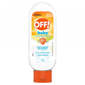Off Baby Repelente Gel Infantil 117g