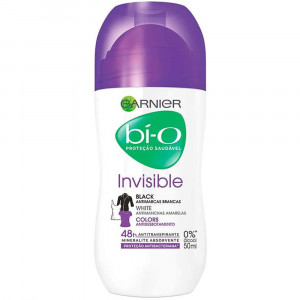 Garnier Bío Desodorante F 50mL -Invisible Black White Colors
