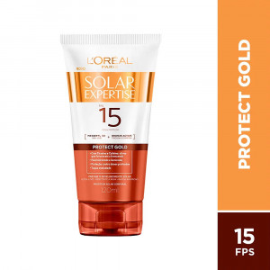 Protetor Solar Expertise Protect Gold L'Oréal FPS15 120mL