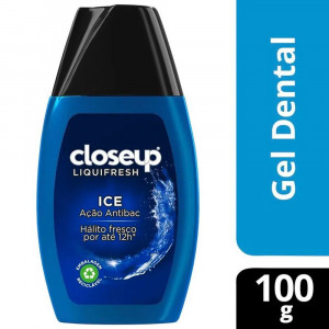 Gel Dental Close Up Liquid Fresh Ice 100g