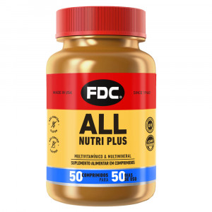 All Nutri Plus FDC c/50 Comprimidos
