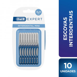 Escova Interdental Oral-B Expert Mini c/10 Unidades