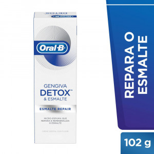 Creme Dental Oral-B Detox Esmalte Repair 102g