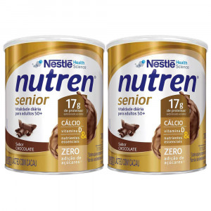 Kit 2x370g NUTREN SENIOR Chocolate
