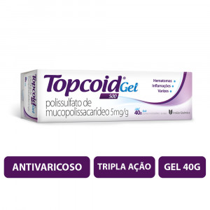 Topcoid 500 Gel 5mg/g 40g