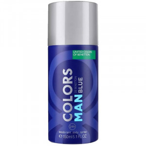 Benetton Colors Man Blue Deo Desodorante Spray 150mL