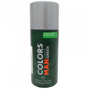 Benetton Colors Man Green Deo Desodorante Spray 150mL