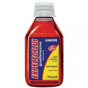Expectoflui Xarope Sabor Cereja 13,33mg/mL 120mL