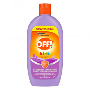 Off Kids Repelente Loção Infantil 200mL