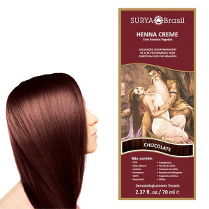 Henna Creme Chocolate Surya Brasil 70mL 13.12.P